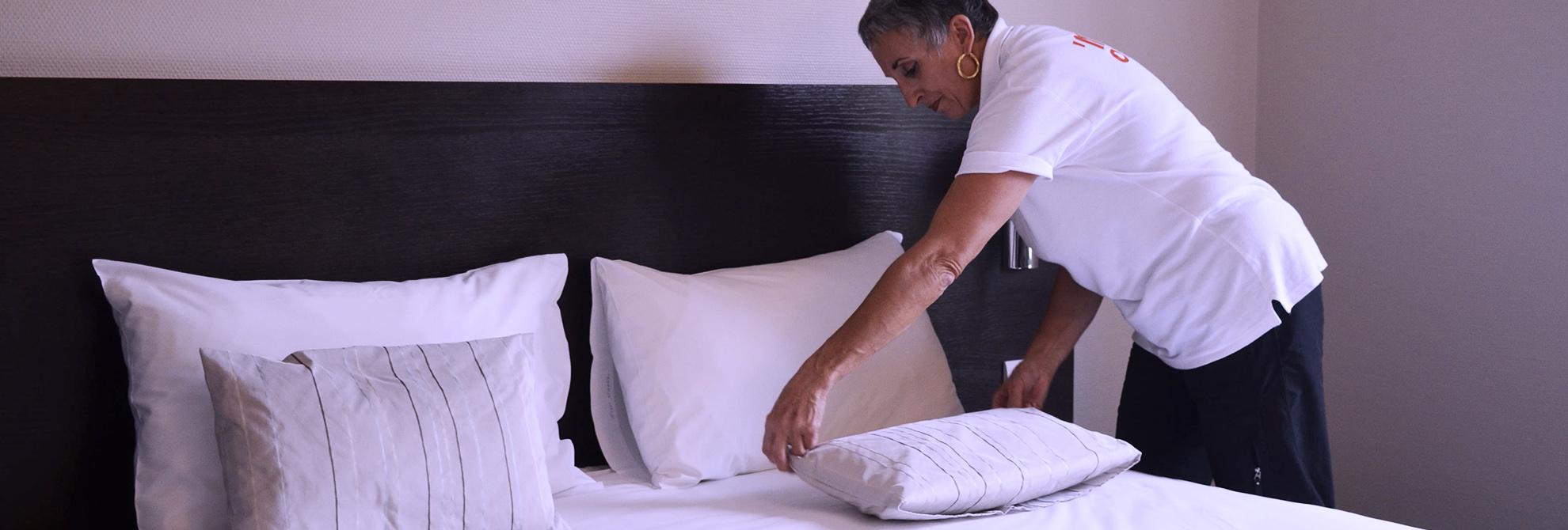 Service de nettoyage professionnel Hotel