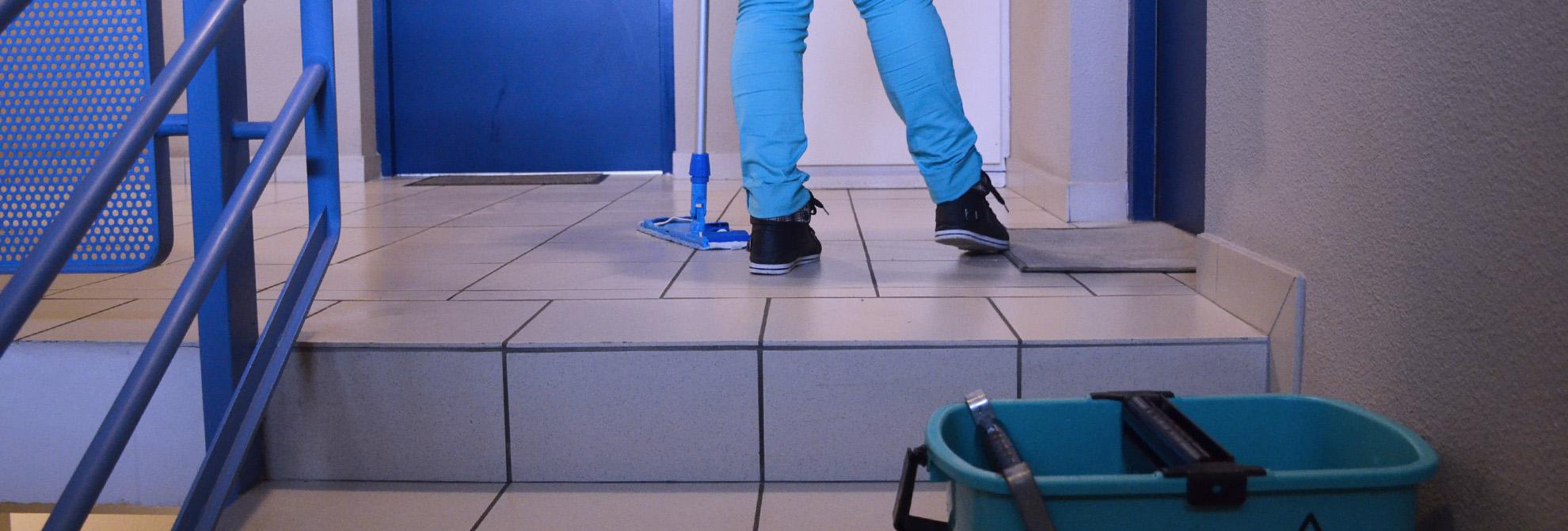 Gestion nettoyage pro copropriété
