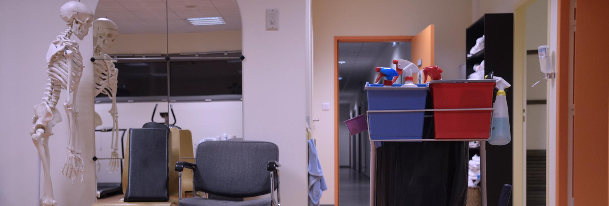 Nettoyage professionnel Santé