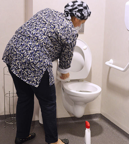 service nettoyage sante